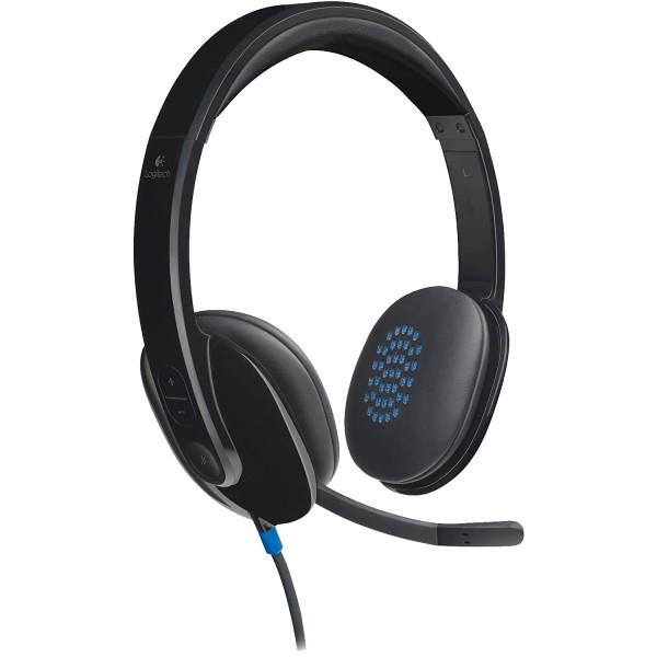 Logitech H540 - Kopfbügel Headset - USB - Schwarz