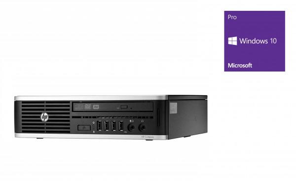 HP Elite 8200 USDT - Core i5-2400S @ 2,5 GHz - 4GB RAM - 320GB HDD - DVD-RW - Win10Home