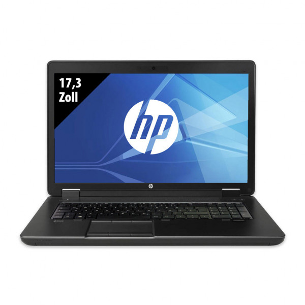 HP ZBook 17 G2 - 17,3 Zoll - Core i7-4810MQ @ 2,8 GHz - 16GB RAM - 500GB SSD - Nvidia Quadro K4100M - FHD (1920x1080) - Webcam - Win10Pro