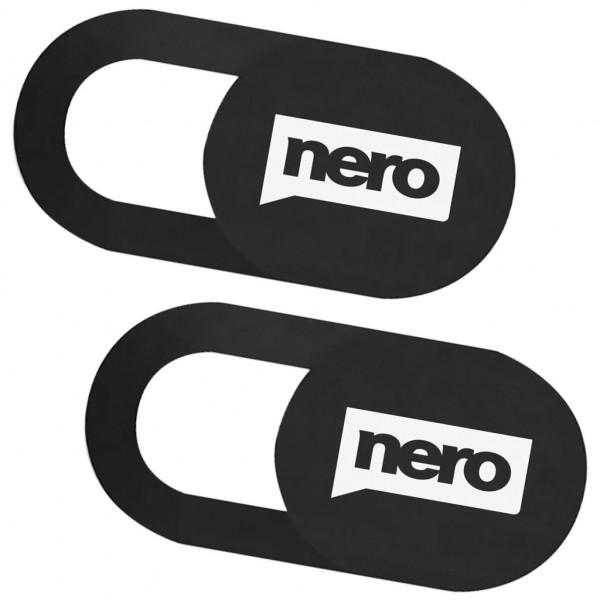 Nero Webcam Cover (2er-Pack) - Abdeckung - Schwarz
