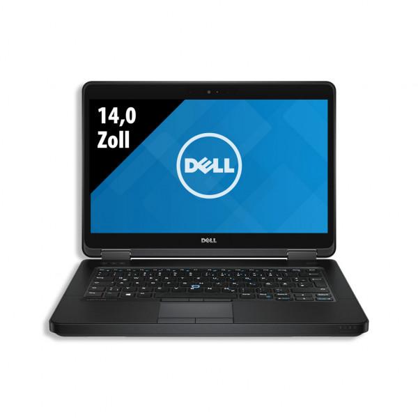 Dell Latitude E5450 - 14,0 Zoll - Core i5-5200U @ 2,2 GHz - 8GB RAM - 250GB SSD - FHD (1920x1080) - Webcam - Win10Pro