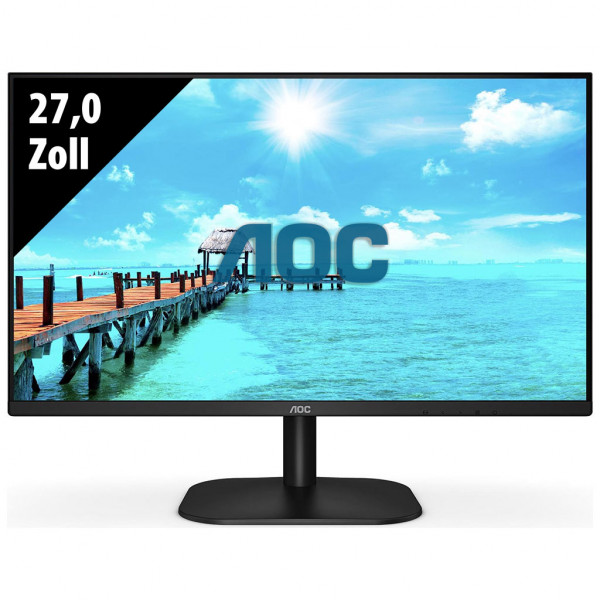 AOC 27B2DA - 27,0 Zoll - FHD (1920x1080) - 4ms - schwarz