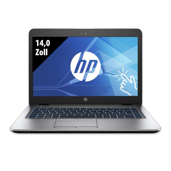 HP EliteBook 840 G3 - 14,0 Zoll - Core i5-6200U @ 2,3 GHz - 16GB RAM - 250GB SSD - FHD (1920x1080) - Touch - Webcam - Win10Pro