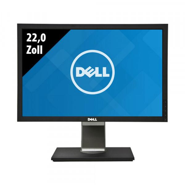 Dell P2210f - 22,0 Zoll - WSXGA+ (1680x1050) - 5ms - schwarz/silber