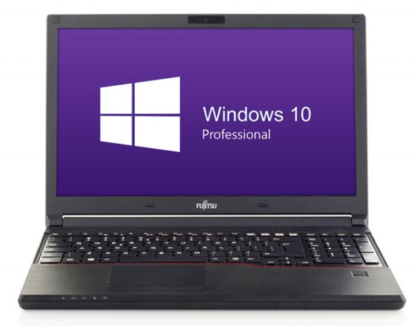 Fujitsu E556 - Core i3-6100U @ 2,3 GHz - 16GB RAM - 256GB SSD - DVD-RW - FHD - Win10Pro - neuwertig