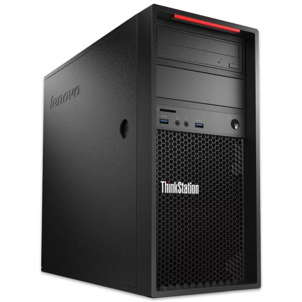 Lenovo ThinkStation P520c - Xeon W-2133 @ 3,6 GHz - 64GB RAM - 1000GB SSD - DVD-RW - Nvidia Quadro P4000 - Win10Pro