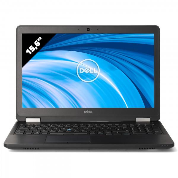 Dell Latitude E5570 - 15,6 Zoll - Core i7-6820HQ @ 2,7 GHz - 8GB RAM - 250GB SSD - AMD R7 M370 - FHD (1920x1080) - Webcam - Win10Pro