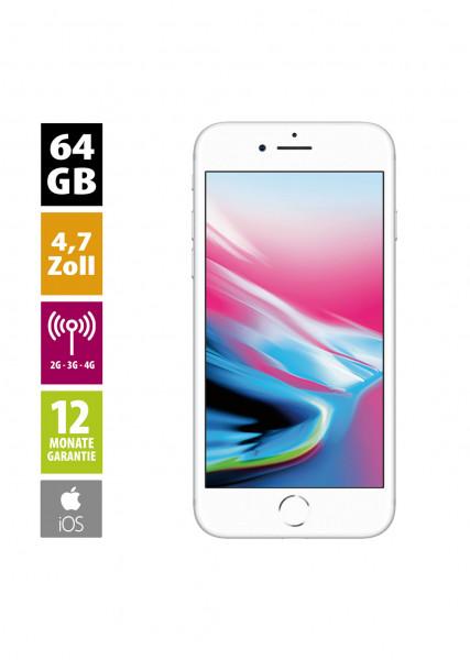 Apple iPhone 8 (64GB) - Silver