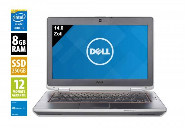 Dell Latitude E6430 - 14,0 Zoll - Core i5-3360M @ 2,8 GHz - 8GB RAM - 250GB SSD - DVD-RW - WSXGA (1600x900) - Webcam - Win10Home