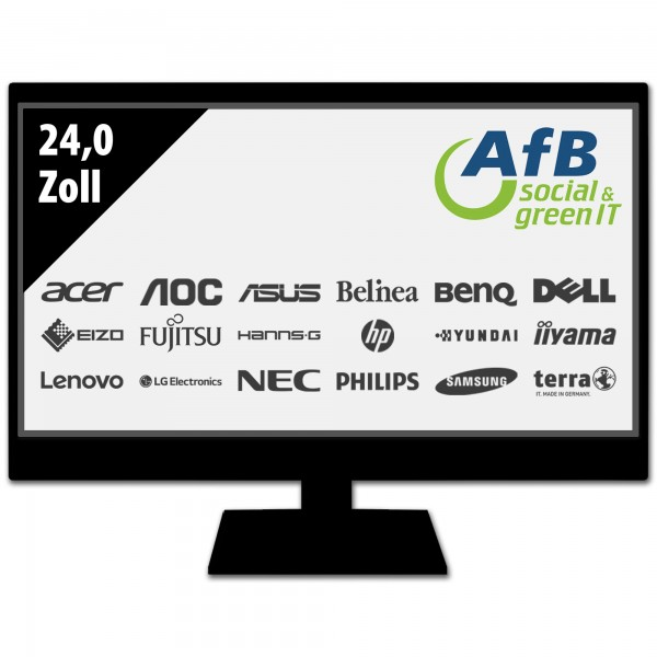 Monitor - 24,0 Zoll - FHD (1920x1080) - schwarz