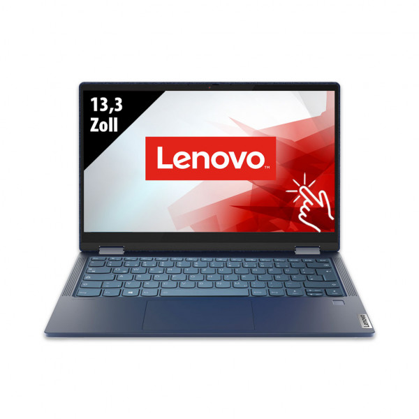 Lenovo Yoga 6 - 13,3 Zoll - AMD Ryzen 5 4500U @ 2,3 GHz - 8GB RAM - 500GB SSD - FHD (1920x1080) - Touch - Webcam - Win10Pro