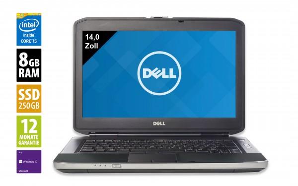 Dell Latitude E5430 - 14,0 Zoll - Core i5-3340M @ 2,7 GHz - 8GB RAM - 250GB SSD - DVD-RW - WXGA (1366x768) - Webcam - Win10Pro