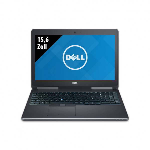 Dell Precision 7520 - 15,6 Zoll - Core i7-7820HQ @ 2,9 GHz - 16GB RAM - 1000GB SSD - Nvidia Quadro M2200 - FHD (1920x1080) - Webcam - Win10Pro