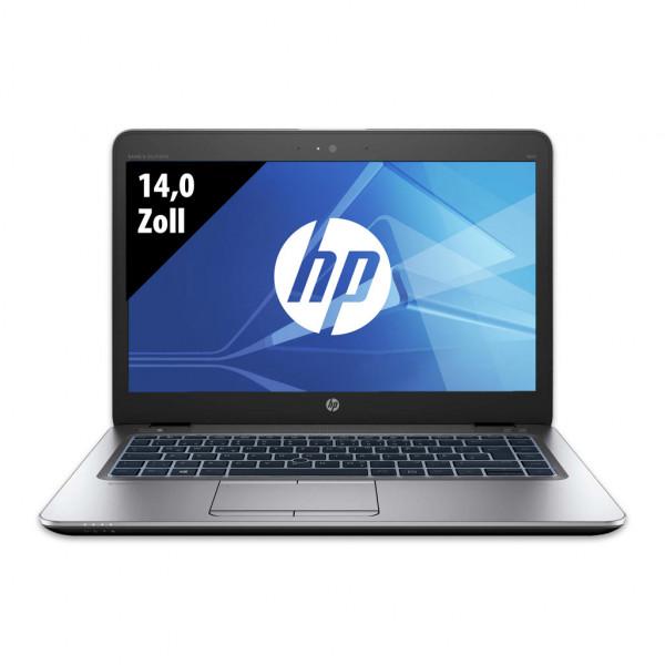 HP EliteBook 840 G3 - 14,0 Zoll - Core i5-6200U @ 2,3 GHz - 8GB RAM - 250GB SSD - FHD (1920x1080) - Webcam - Win10Home