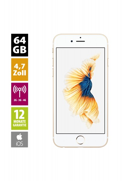 Apple iPhone 6s (64GB) - Gold