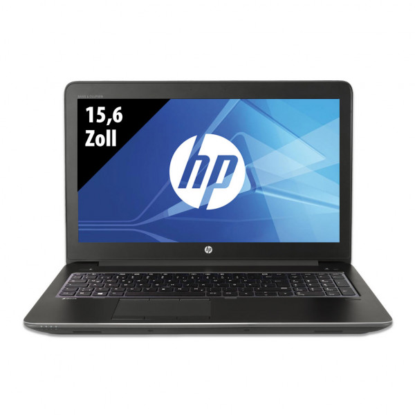 HP ZBook 15 G3 - 15,6 Zoll - Core i7-6700HQ @ 2,6 GHz - 16GB RAM - 500GB SSD - Nvidia Quadro M2000M - FHD (1920x1080) - Win10Pro