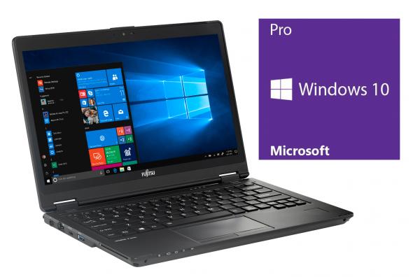 Fujitsu LifeBook P727 - 12,5 Zoll - Core i5-7200U @ 2,5 GHz - 8GB RAM - 128GB SSD - FHD (1920x1080) - Touch - Inkl. Port Replikator - Win10Pro