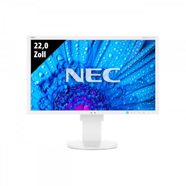 NEC MultiSync EA223WM - 22,0 Zoll - WSXGA+ (1680x1050) - 5ms - weiß