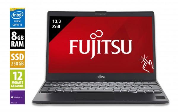 Fujitsu LifeBook U937 - 13,3 Zoll - Core i5-7300U @ 2,6 GHz - 8GB RAM - 250GB SSD - FHD (1920x1080) - Touch - Webcam - Win10Pro