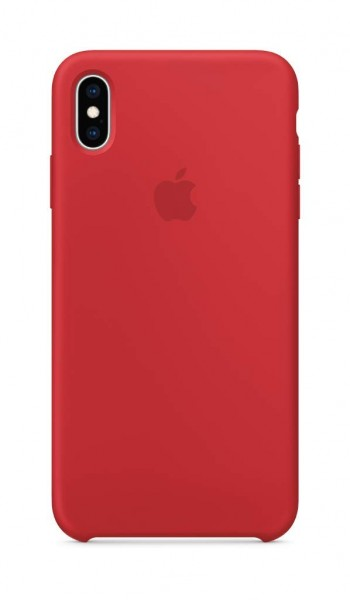 Apple Silikon Case (iPhone XS Max) - (PRODUCT)RED