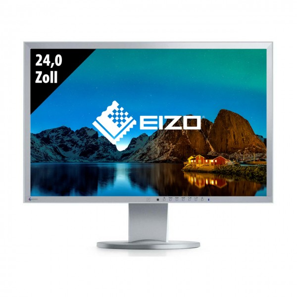 Eizo FlexScan EV2436W - 24,0 Zoll - WUXGA (1920x1200) - 6ms - grau
