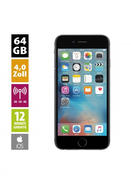 Apple iPhone 5s (64GB) - Space Gray