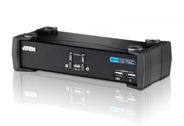ATEN 2-Port USB DVI / Audio KVMP Switch - CS1762A