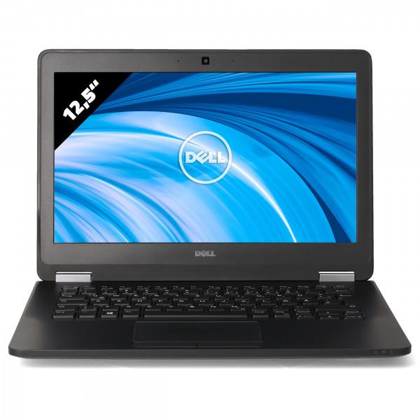 Dell Latitude E7270 - 12,5 Zoll - Core i7-6600U @ 2,6 GHz - 8GB RAM - 250GB SSD - FHD (1920x1080) - Webcam - Win10Pro