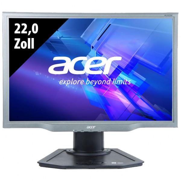 Acer AL2223W - 22,0 Zoll - WSXGA+ (1680x1050) - 5ms - schwarz/silber