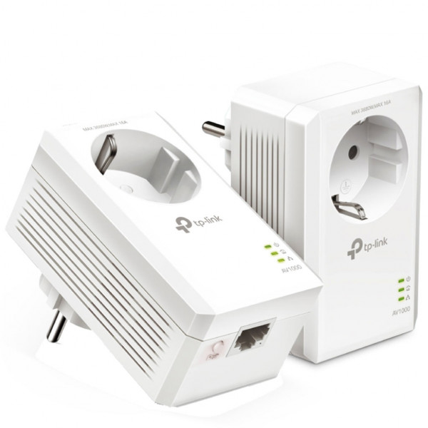 TP-Link Powerline - TL-PA7017P KIT - 1 GBps - Weiß