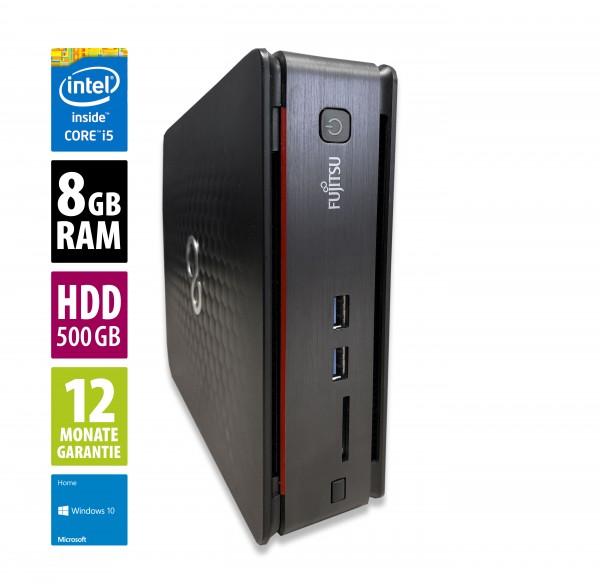 Fujitsu Esprimo Q520 USFF - Core i5-4570T @ 2,9 GHz - 8GB RAM - 500GB HDD - DVD-RW - Win10Home