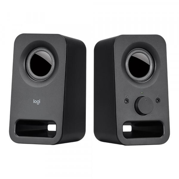 Logitech Z150 - Multimedia Stereo-Lautsprechersystem - schwarz