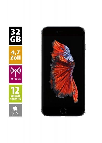 Apple iPhone 6s (32GB) - spacegrau