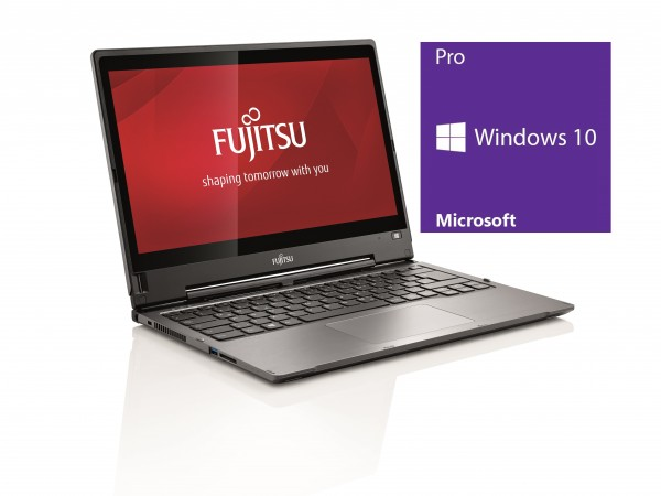 Fujitsu T937 - Core i5-7300U @ 2,6 GHz - 8GB RAM - 256GB SSD - ohne LW - Touch-FHD - Win10Pro