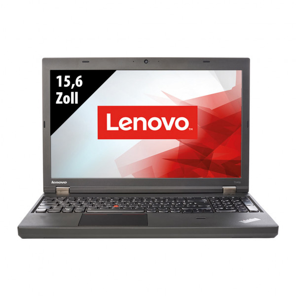 Lenovo ThinkPad T540p - 15,6 Zoll - Core i7-4600M @ 2,9 GHz - 8GB RAM - 250GB SSD - WXGA (1366x768) - Webcam - Win10Home