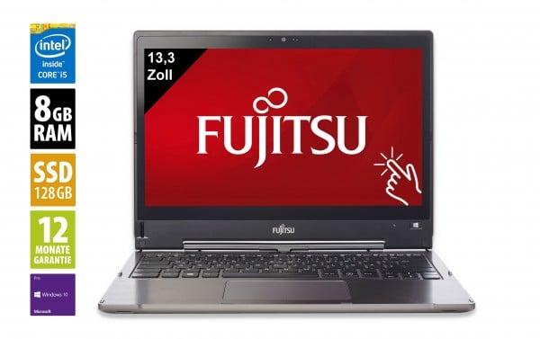 Fujitsu LifeBook T936 - 13,3 Zoll - Core i5-6200U @ 2,3 GHz - 8GB RAM - 128GB SSD - FHD (1920x1080) - Touch - Webcam - Win10Pro - Inkl. Dockingstation