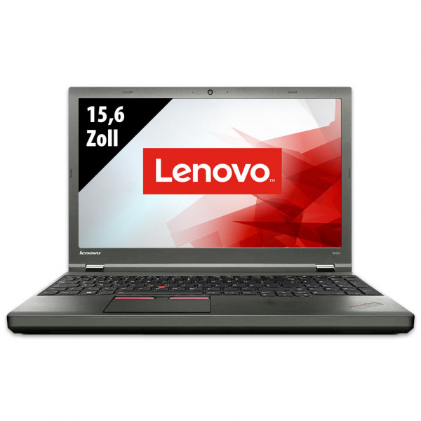 Lenovo ThinkPad W541 - 15,6 Zoll - Core i7-4910MQ @ 2,9 GHz - 32GB RAM - 500GB SSD - 1000GB SSD - Nvidia Quadro K2100M - 3K (2880x1620) - Webcam - Win10Home
