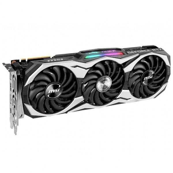 MSI - GeForce RTX 2080 DUKE 8G OCV1 - 8G - GDDR6 - Grafikkarte (602-V372-38S)- Bulk