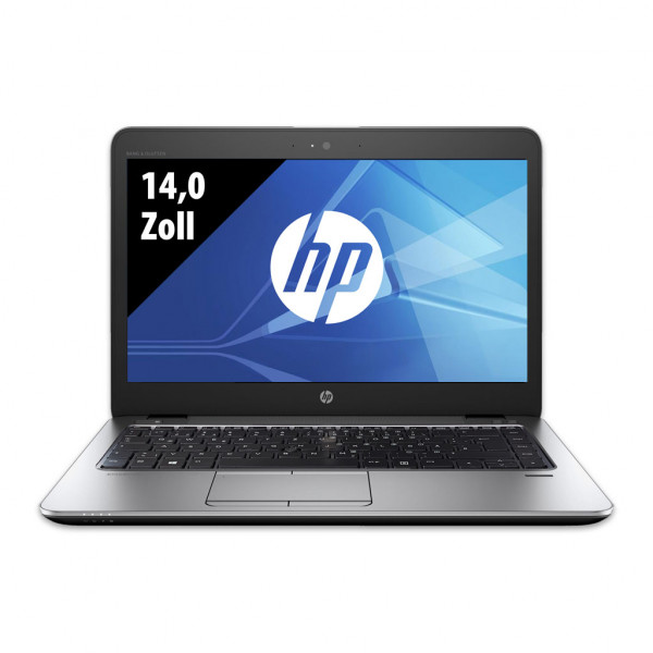 HP EliteBook 840 G3 - 14,0 Zoll - Core i7-6600U @ 2,6 GHz - 8GB RAM - 250GB SSD - FHD (1920x1080) - Webcam - Win10Pro