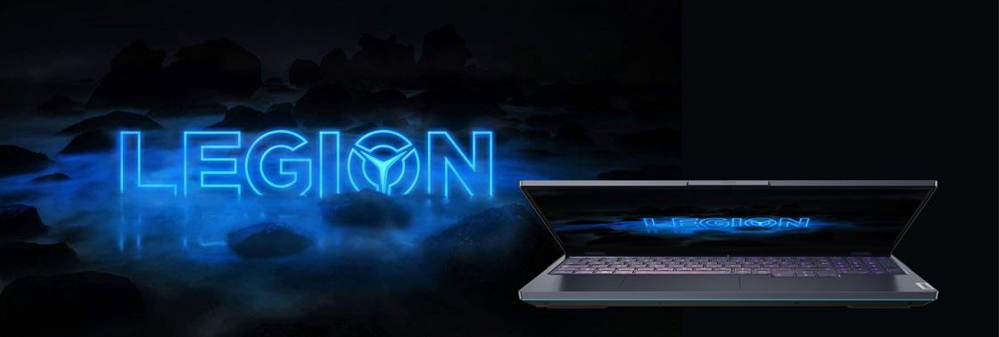 Das Bild zeigt das Gaming-Notebook Lenovo Legion 7