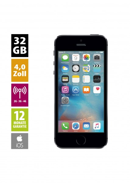 Apple iPhone 5s (32GB) - Space Gray