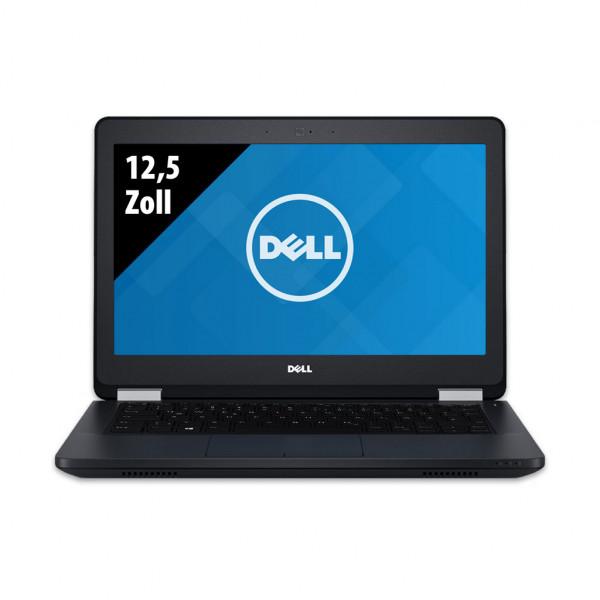 Dell Latitude E5270 - 12,5 Zoll - Core i5-6300U @ 2,4 GHz - 8GB RAM - 250GB SSD - FHD (1920x1080) - Webcam - Win10Home