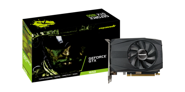 Manli Geforce GTX 1650 - Grafikkarte - 4GB GDDR5
