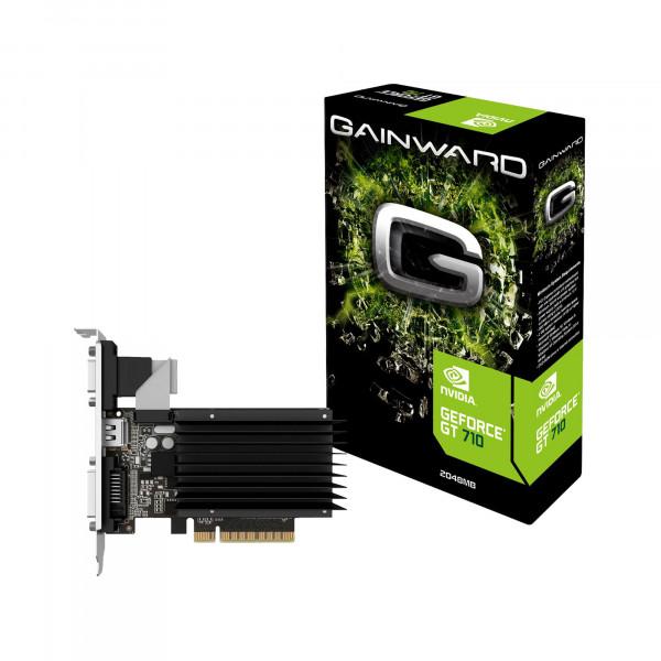 Gainward GeForce GT 710 SilentFX - Grafikkarten - GF GT 710 - 2GB DDR3