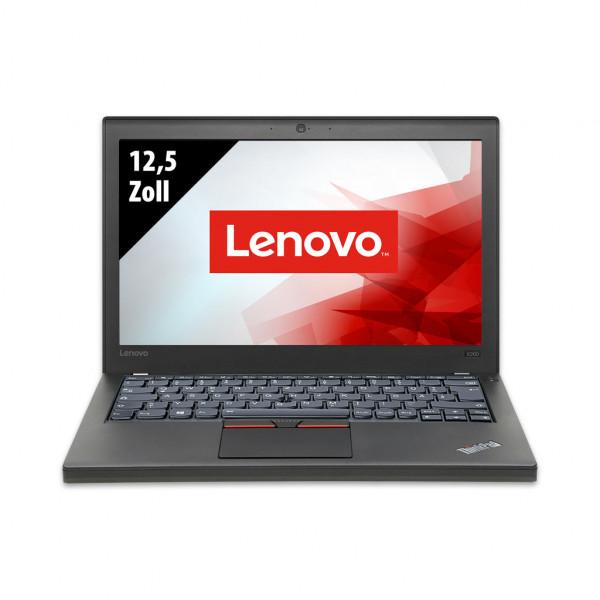 Lenovo ThinkPad X260 - 12,5 Zoll - Core i5-6300U @ 2,4 GHz - 8GB RAM - 250GB SSD - WXGA (1366x768) - Webcam - Win10Pro