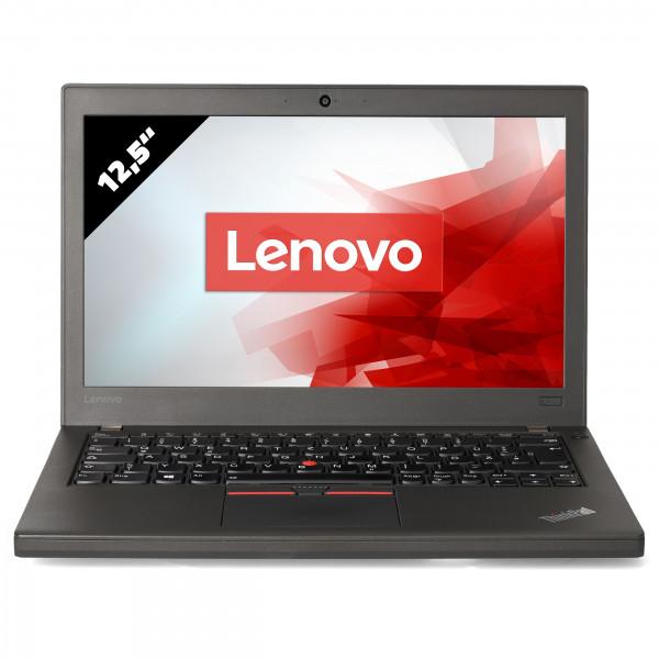 Lenovo ThinkPad X270 - 12,5 Zoll - Core i5-7300U @ 2,6 GHz - 8GB RAM - 500GB SSD - FHD (1920x1080) - Webcam - Win10Home