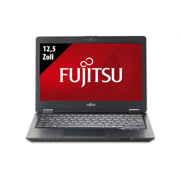 Fujitsu LifeBook U729 - 12,5 Zoll - Core i5-8365U @ 1,6 GHz - 8GB RAM - 250GB SSD - FHD (1920x1080) - Webcam - Win10Pro