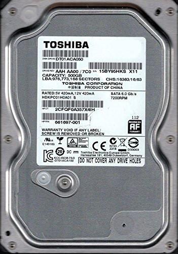 HDD - 500 GB - 3,5 Zoll - SATA