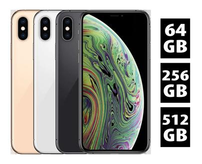 Farbwahl und Speicheroptionen des iPhone XS