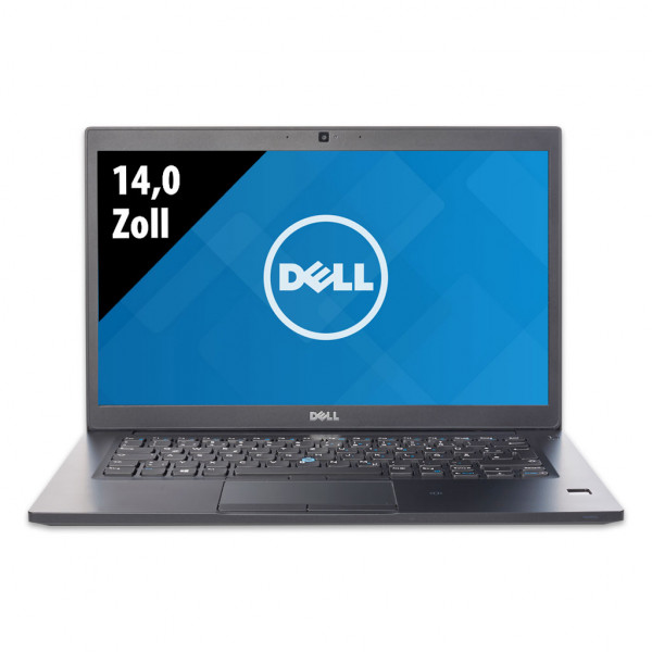 Dell Latitude 7480 - 14,0 Zoll - Core i7-7600U @ 2,8 GHz - 16GB RAM - 500GB SSD - FHD (1920x1080) - Webcam - Win10Pro